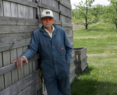 IMAGE: FARMER WHO BENEFITS FROM WARMING