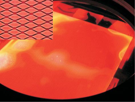 Image: Aluminum foil lamp