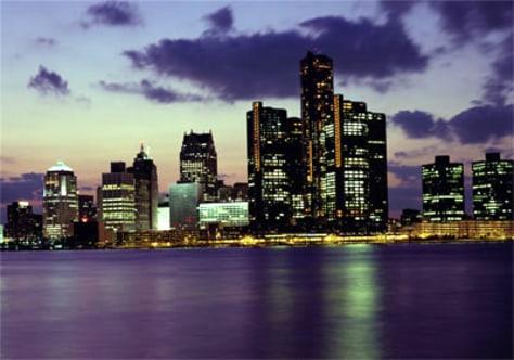 Image: Detroit skyline
