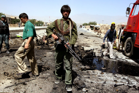 Image: Afghan attack
