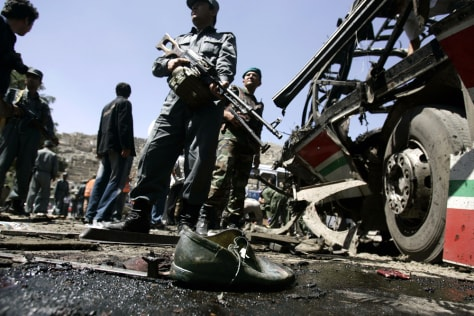 Image: Blast in Kabul