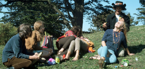 Image: Summer of Love in Haight Ashbury