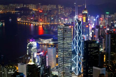 Image: Hong Kong skyline