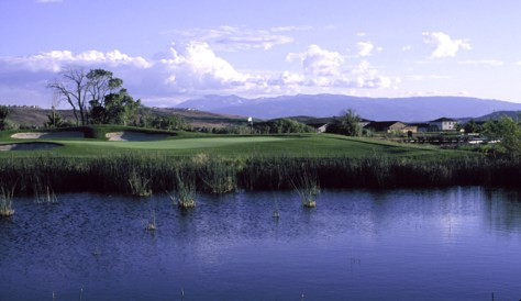 Image: 16th hole at Red Hawk