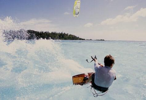 Image: Kite boarder
