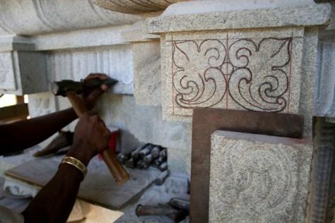 Image: Stone temple