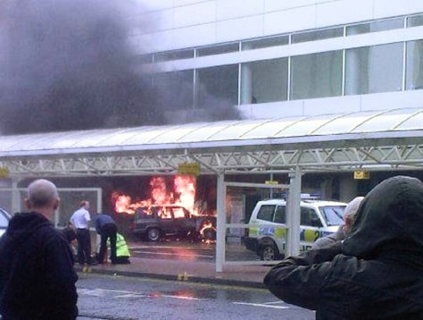 Image: Glasgow airport attack