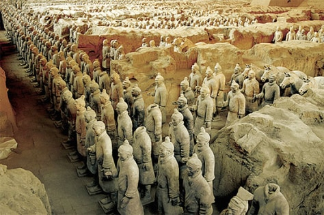 Image: Terra cotta warriors
