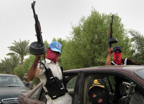 Image: Sunni militiamen