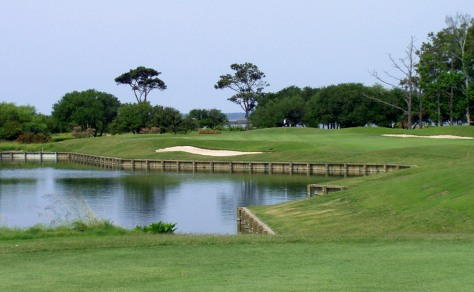 Image: 6th hole at Currituck Club
