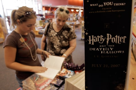 Image: Harry Potter shoppers