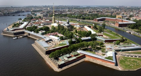 Image: Peter and Paul Fortress