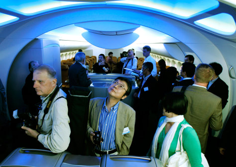 Image: Interior of Dreamliner