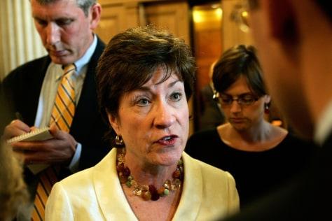 IMAGE: Sen. Susan Collins, R-Maine