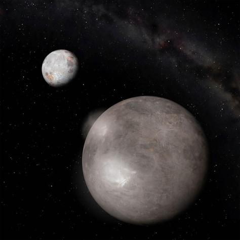 Image: Pluto's moon Charon