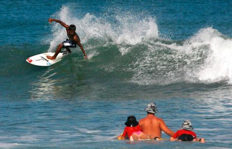Image: Bali swimming