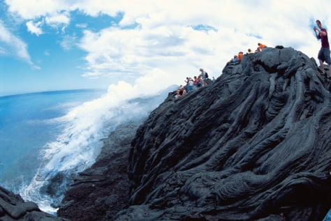 Image: Lava flow from Kiluea