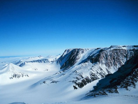 Image: Transantarctic mountain range