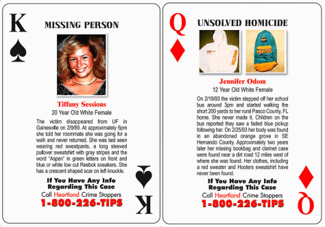 Image: Cold case playing cards