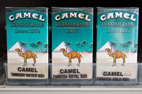 Image: Camel cigarettes