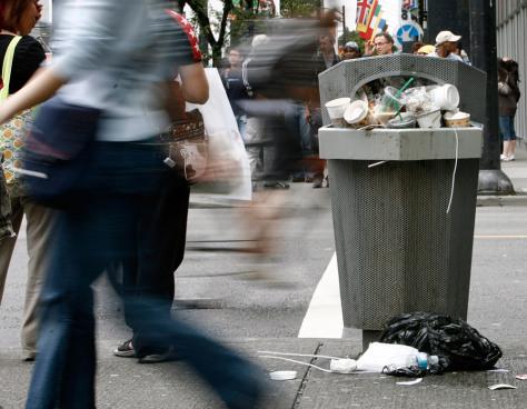 Image: Vancouver garbage strike