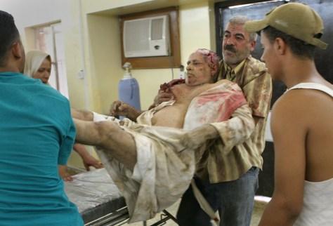 Image: Iraqi victims