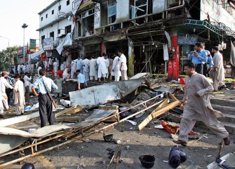 Image: Islamabad suicide blast