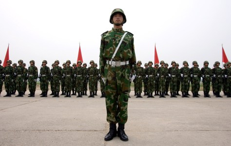 Image: Chinese soldier