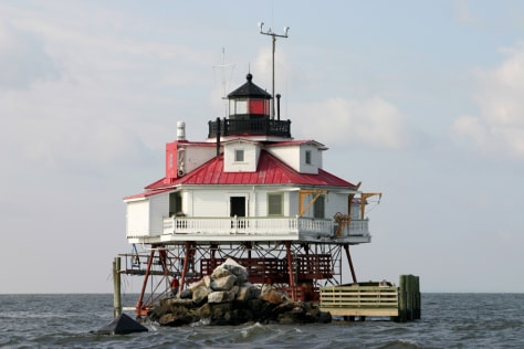 Image: Thomas Point Shoal Lighthouse, Chesapeake Bay
