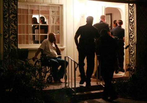Image: Police raid home