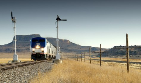 Image: Amtrak train