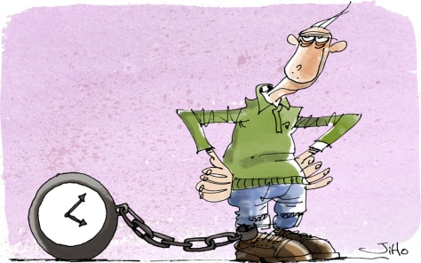 Image: Aging worker