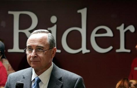 Image: Rider University President Mordechai Rozanski