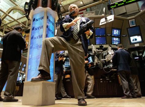 Image: Floor of New York Stock Exchange
