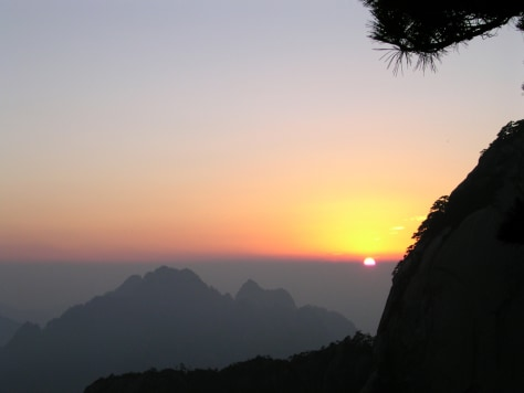 Image: Huangshan, or Yellow Mountain