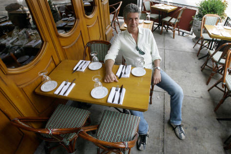 Image: 'No Reservations' host Anthony Bourdain