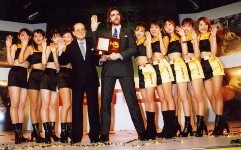 "Image: ""Donkey Kong"" champ Billy Mitchell"