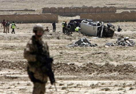 IMAGE: Afghan blast aftermath
