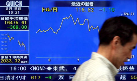 IMAGE: Nikkei hits lowest closing since December
