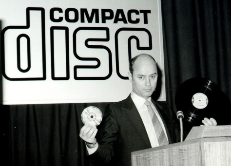 Image: Phillips CD's first worldwide public appearance