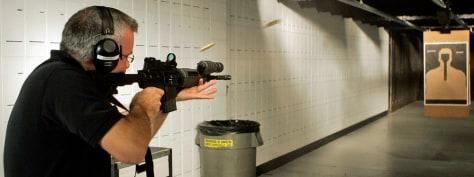 Image: Police range master