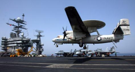 Image:A Navy E-2C Hawkeye