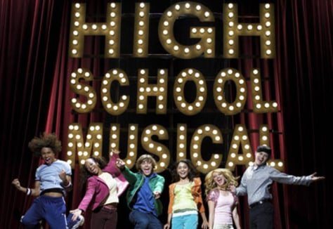 Image: High School Musical cast.