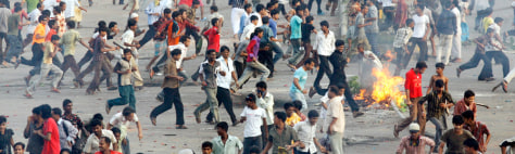 Image: Bangladesh riot