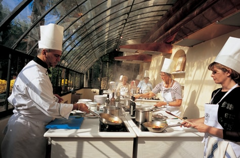 Image: Cooking classes in Tuscany