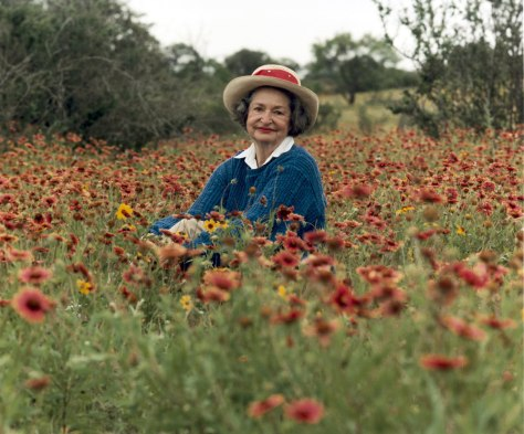 IMAGE: Lady Bird Johnson in 1990