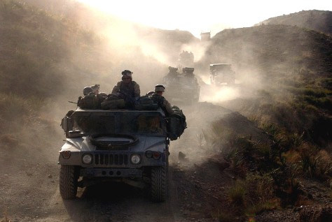 Image: U.S. soldiers near Pakistan