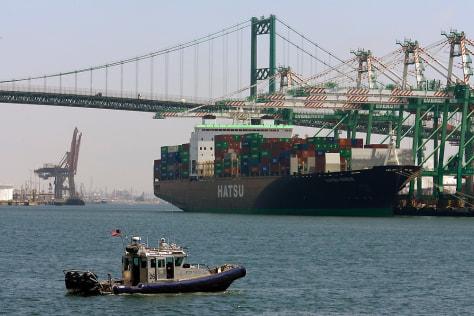 Image: L.A. port