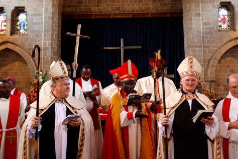 American Anglican bishops ordained in Kenya