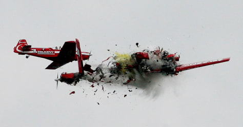 Image: Collision at air show
